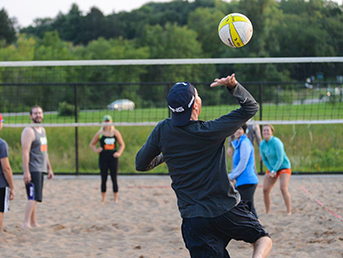 Young Adult Sand Volleyball